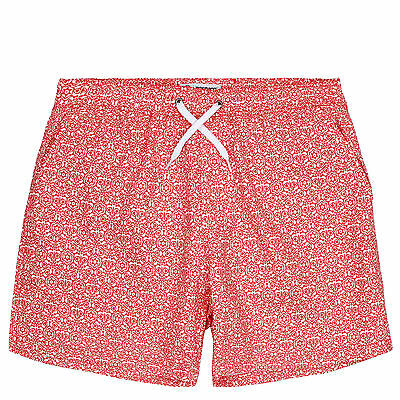 Mosmann Men's Swim Shorts Beach Pants Fashion Print Swimwear Trunks Boxer Briefs