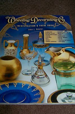 Identification/price Guide Book On Wheeling Decorator Co. Collectibles