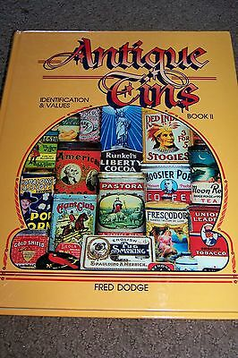 Identification/price Guide Book On Antique Tins