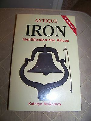 Identification/price Guide Book On Iron Collectibles