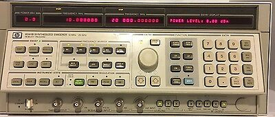 Agilent / HP 8341B Synthesized Sweep Signal Generator (10MHz to 20GHz)