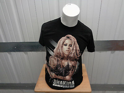 Vintage Tultex Shakira The Sun Comes Out World Tour Dates 2010 Small Shirt