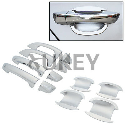Car Chrome Trim Door Handle Cover Bowl For Skoda Superb Vw Golf 6 2009-2012 Cap