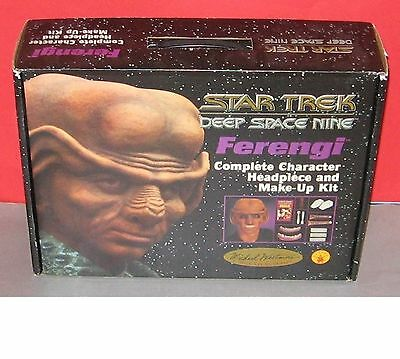 1994 Rubies STAR TREK DS9 Ferengi - Complete Character Headpiece and Make-up Kit