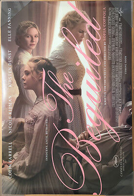 THE BEGUILED MOVIE POSTER 2 Sided ORIGINAL 27x40 COLIN FERRELL ELLE FANNING