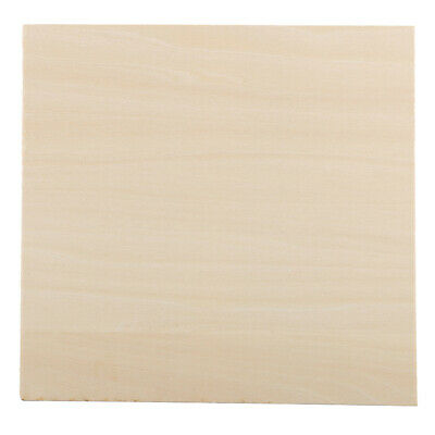 Square Blank Wooden Craft Unfinished Wood for DIY Laser Cut Pyrography Craft