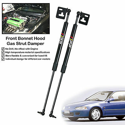 NEW! Front Hood Strut Damper Lift Support|Fixs Honda Civic EG EG6 EG9|'92-'95