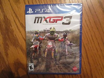 MXGP 3: The Official Motocross Videogame (Sony PlayStation 4, 2017) PS4