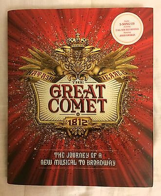 The Great Comet of 1812 Book **SIGNED BY JOSH GROBAN & CAST** Mint Condition!!