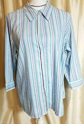 Old Navy Easy Fit Women Size XXL Button Down Top Blouse