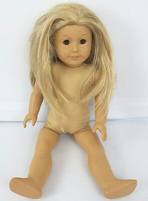 2008 American Girl Doll for TLC Repairs Parts loose Legs blonde hair brown eyes