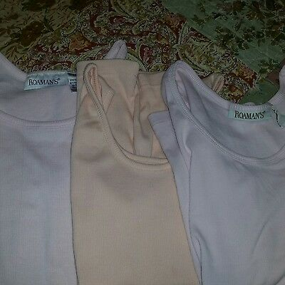 Three Romans Tank Tops Size Medium Excellent Condition