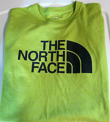 NWOT The North Face Graphic Green Dome Logo T-Shirt Men's Size S