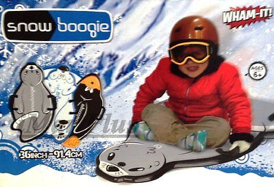 Wham-o Kids Snow Boogie Animal Skiing Sled Soft Durable Foam New brand new