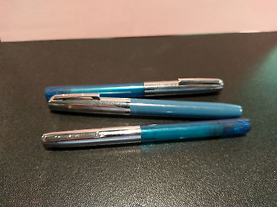 Vintage 'Sheaffer Fountain Pen's'..Lot of 3....VG condition!