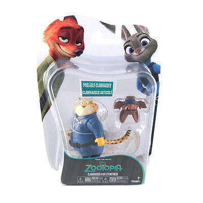 Tomy Disney Zootopia Character Pack Clawhauser and Bat Eyewitness BNIB