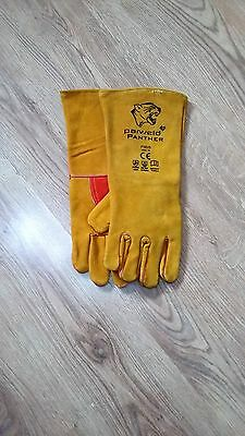 Welding Equipment panther Welding Gauntlet Gloves premium quality 8 pairs