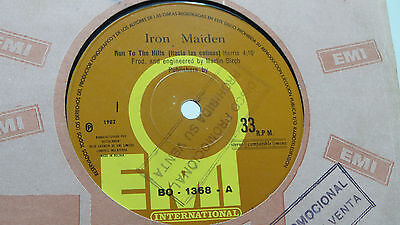 """Iron Maiden - 7¨run To The Hills / Total Eclipse Collection """"bolivia"""" Promo"""