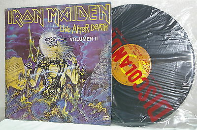 """Iron Maiden - Lp¨live After Death Vol.2 Collection """"bolivia"""""""