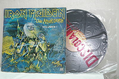 """Iron Maiden - Lp¨live After Death Vol.1 Collection """"bolivia"""""""