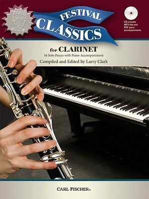 Festival Classics for Clarinet - Solo Clarinet Music Book with CD-ROM