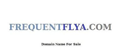 Domain Name  -  FREQUENTFLYA.COM