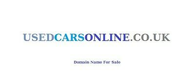 Domain Name -  USEDCARSONLINE.CO.UK   (usedcarsonline .com for sale $202,000 !)