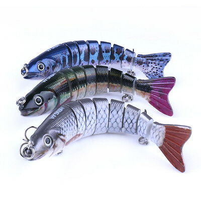 1Piece 130mm Multi Jointed Fishing Lure Swimbait Lures Baits Bass Crankbaits