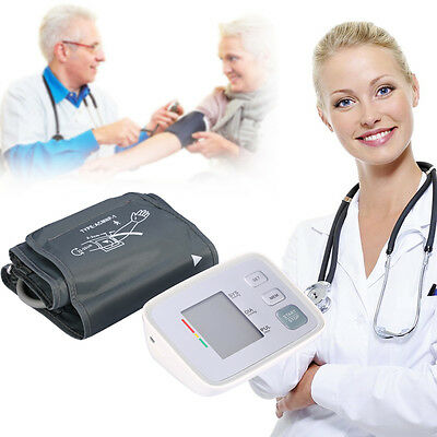 Automatic Digital Upper Arm Blood Pressure Pulse Heart Beat Meters Monitor