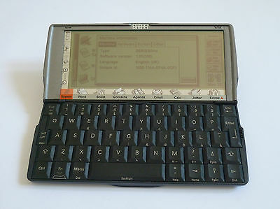 Psion Series 5mx 16MB - PDA - Real Leather case