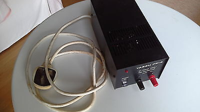 Vintage Yaesu FP4 DC 4 Amp Power Supply with Instruction