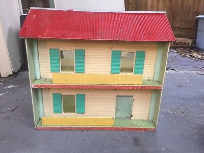 Vintage Doll House Dolls Play Child Original Toy