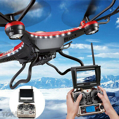 JJRC H8D RC Quadcopter Drone 5.8G FPV HD Camera Monitor With 2 Battery Xmas T