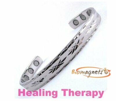 Ladies Super Strong Bio Magnetic Healing Bracelet - Arthritis Pain Relief