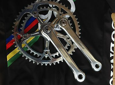 50 th Campagnolo Crankset #1077 Very Nice 53-42 Zähne 170 mm Colnago Cinelli