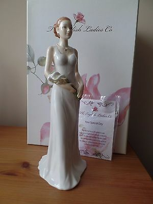 THE ENGLISH LADIES Co - BONE CHINA FIGURINE - YOUR SPECIAL DAY - WEDDING - BOXED