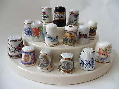 15 Quality World China Thimbles - Germany - France - Hangary - Bavaria - Austria