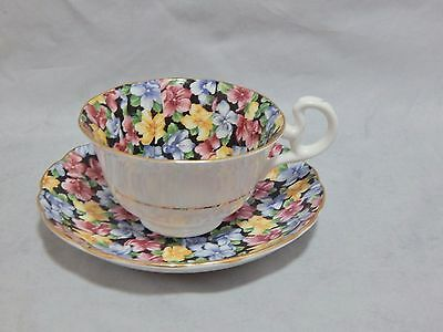 Radfords England Chintz Cup and Saucer Set 1958