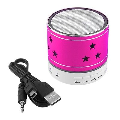 Mini altavoces bluetooth Mp3 Radio FM Multifunción LED USB Micro SD/TF tarjetas