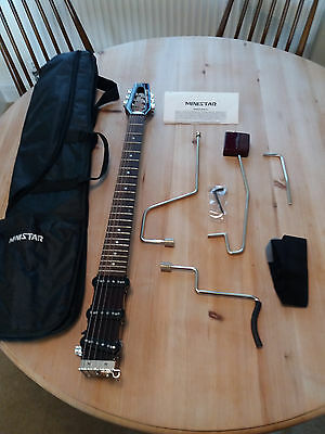 Ministar CASTAR Electric Guitar with 3 Single Coil Pickups (6 String, Mahogany)