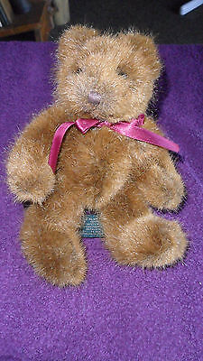 Sweet Russ Berrie Teddy Bear Pickering Plush Soft Stuffed Toy Free Uk P&p