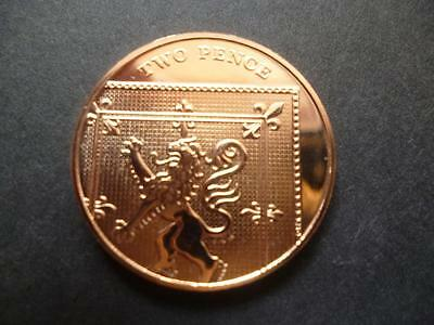 2010 Brilliant Uncirculated 2P Coin, The Definitive Version 2010 Two Pence Piece
