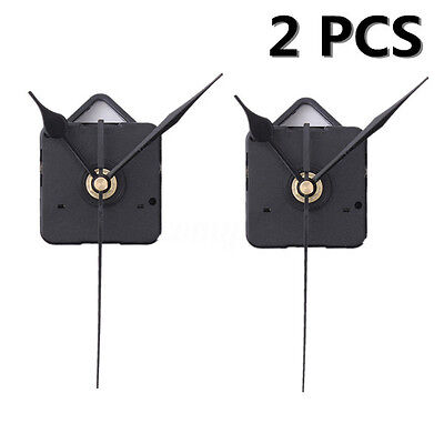 2X Silent Hands DIY Quartz Clock Movement Mechanism Repair Tool Parts Kit Set