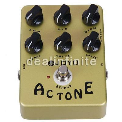 JOYO Effects Pedal JF-13 AC Tone  Overdrive/Distortion Effects FX Pedal