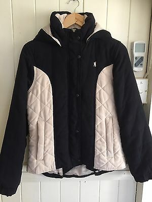 Thomas Cook Riding/ Casual Hooded Jacket Sz XS Or Teen