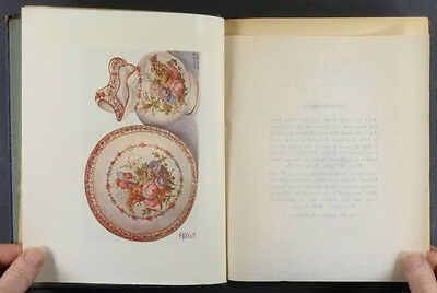 Antique English Derby Porcelain - 1928 Book on English Ceramics