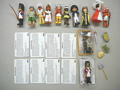 12 x Mondotime Historical Figures, Cards and Accessories  Lot 5