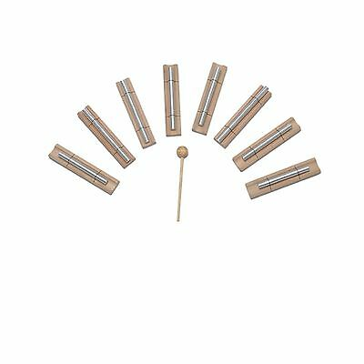 8 Energy Bar Harmonic Chimes louder than tuning forks For Healing & Relaxation