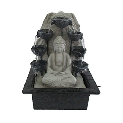 BUDDHA with Water Cups Indoor WATER FEATURE Fountain