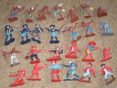 assortment of crescent and other unbranded figures.